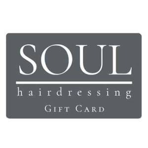 Soul Hairdressng Gift Card
