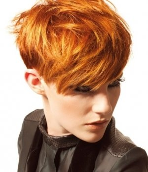 short-fiery-red-hair autumn hair colour natural